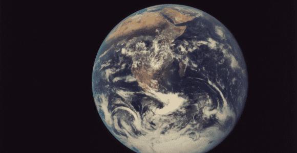 Photo credit: The New York Public Library; Full Disk Earth, Apollo 17, 1972
