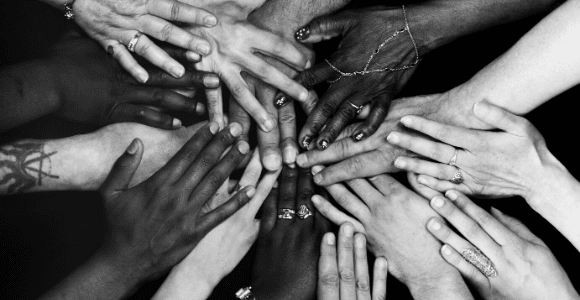 hands together in partnership