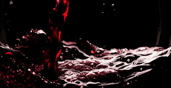 wine splash