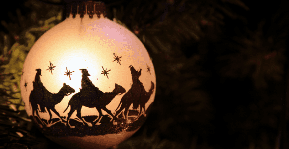 ornament with wise men