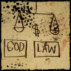 God, Law (Basquiat, 1981)