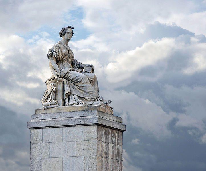 Abundantia, by Louis Petitot, 1846, Pont du Carrousel, Paris. Image by Jebulon via Wikimedia Commons. Public domain.