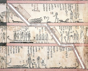 Amduat Hour 10 – Detail. Image by Asaf Braverman via Flickr. CC license 2.0