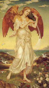 Evelyn de Morgan (1855-1919), Eos. Public domain image.