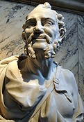 Democritus. Image by Afshin Darian. CC license 2.0.