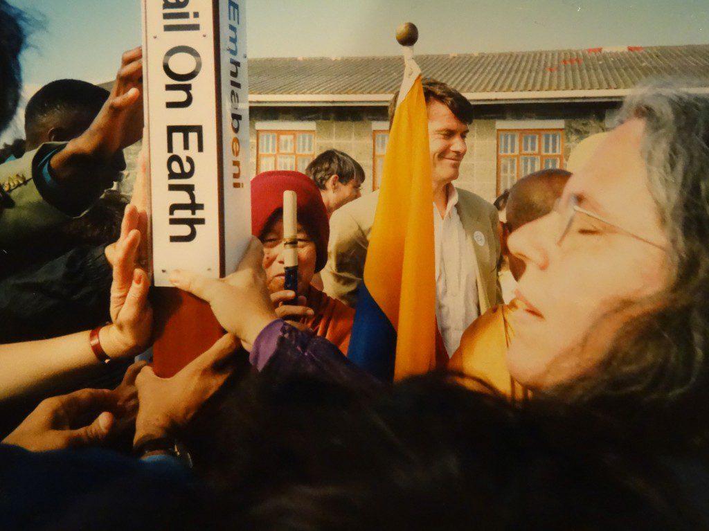 PWR 1999 Peace Pole. Image courtesy of Selena Fox.