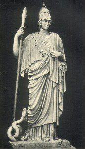 Statue of Athena, image via Wikimedia Commons