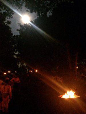 Friday Night Fire Circle at FSG 2014. Photo courtesy Vann Godfrey.