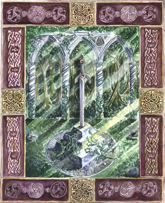 Sword in the Stone by Shauna Aura Knight