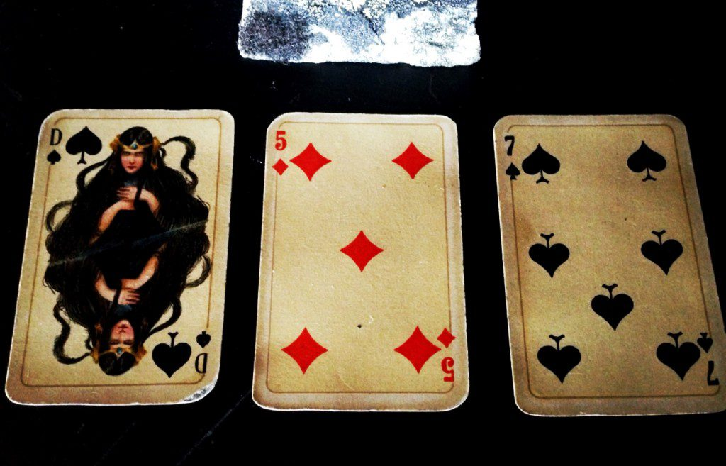 Otto Tragy playing cards for Stralsunder, 1910, in my collection (Photo: Camelia Elias)