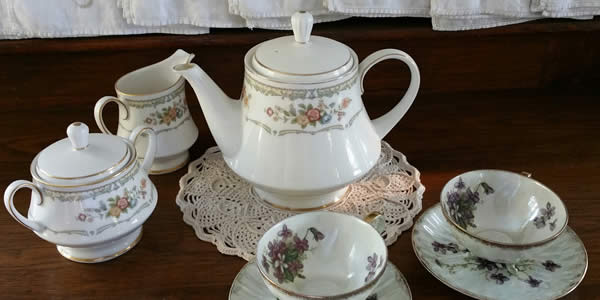 a china tea set