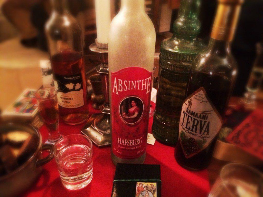 a photogtaph of various liquor bottles
