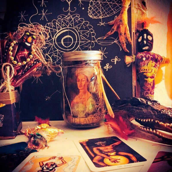 an image of Marie Laveau, Voodoo Queen of New Orleans