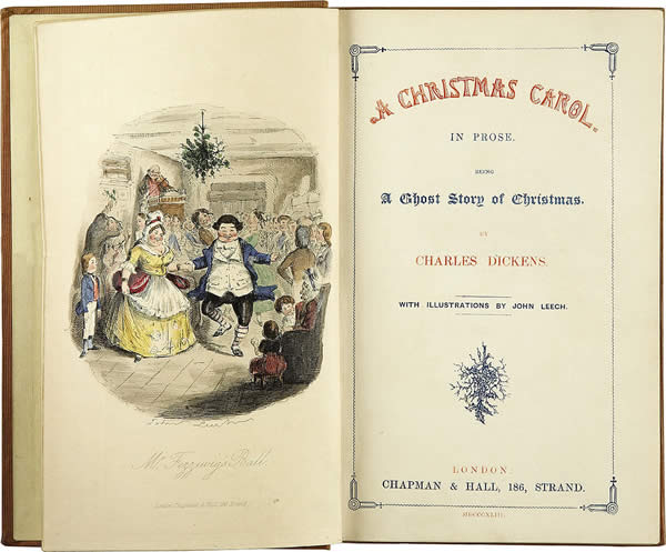 """an illustration of a family party within Charles Dickens's """"A Christmas Carol"""""""