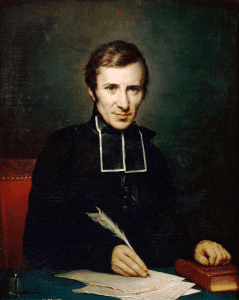 Hugues-Felicité Robert de Lamennais (1826); portrait by Jean-Baptiste Paulin Guérin