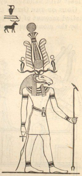 an illustration of the god Khnum