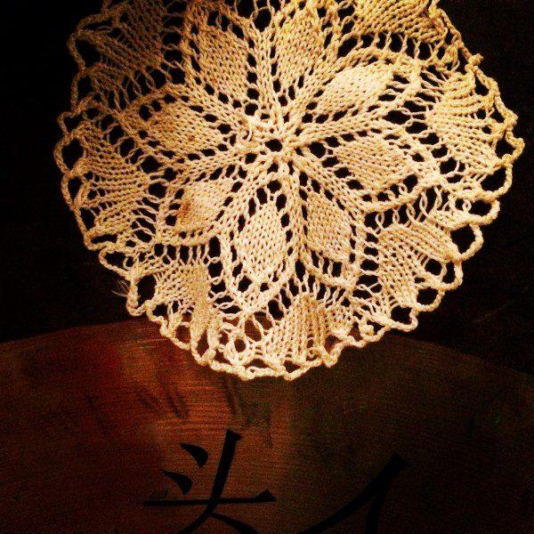 a lace doily