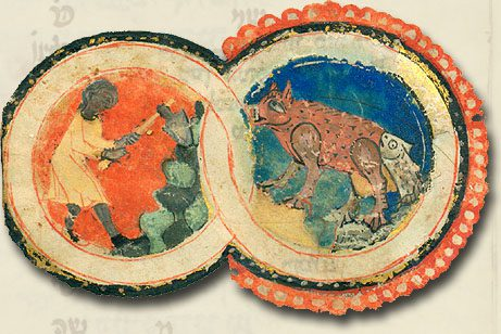 Cancer Illustration from 1320, via WikiMedia.