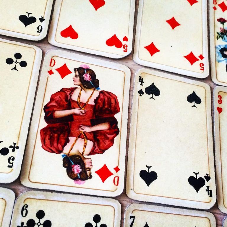 Otto Tragy Jugend Spielkarten, Ver. Stralsunder Spielkartenfabrik, 1910 (Camelia Elias)