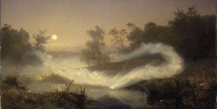 """Dancing Fairies"" by August Malmström.  From WikiMedia."