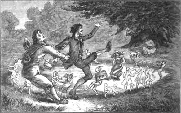 """Plucked from the Fairy Circle"" (1880) from WikiMedia."