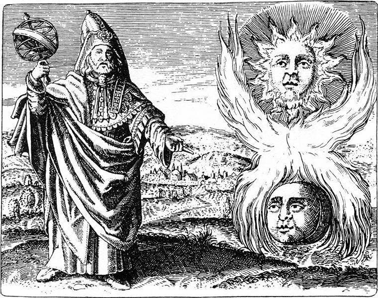 Trismegistos from 1610 via WikiMedia.