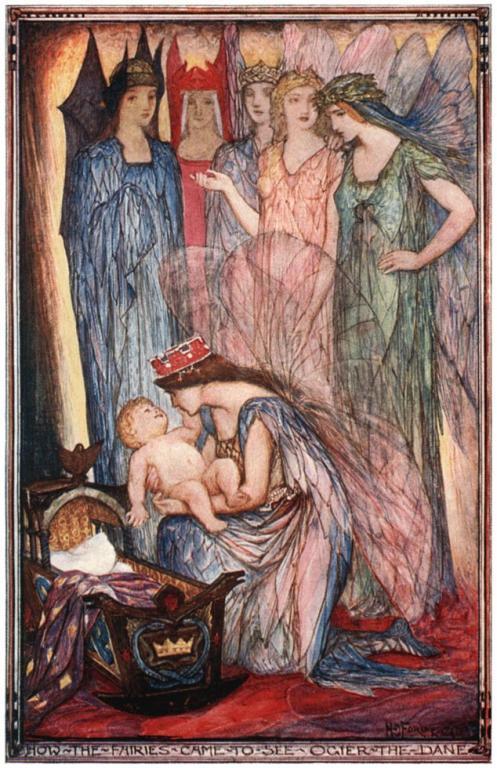 Fairies by H J ford, public domain