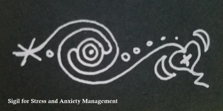 Stress and Anxiety Management Sigil
