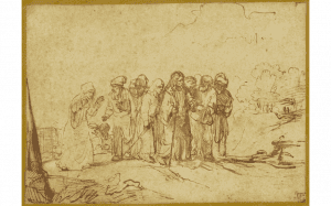 Christ and the Canaanite Woman, Rembrandt pupil