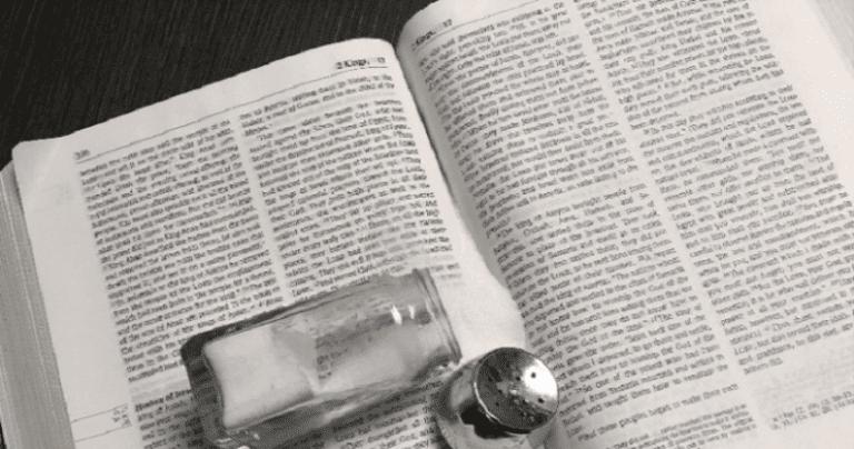 Scripture, Culture & Salt