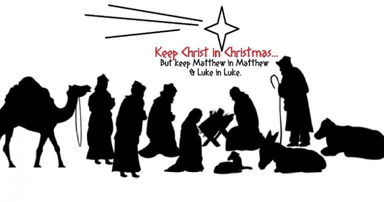 """Different Christmas Elements from """"Matthew"""" and """"Luke"""""""