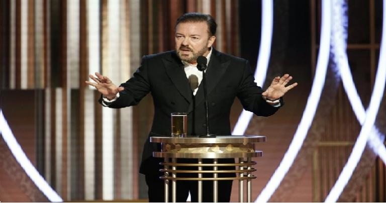 Comedian Ricky Gervais and Costly Grace