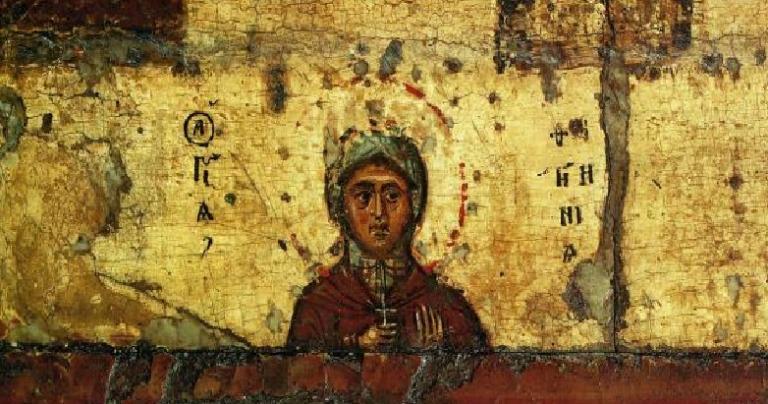 St. Photina, the name given to the Samaritan Woman