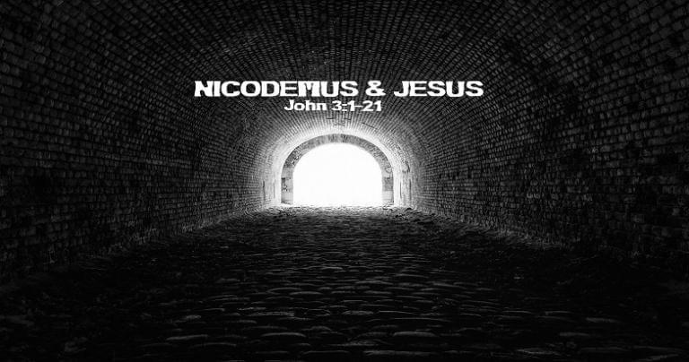 Nicodemus and Jesus, Darkness and Light