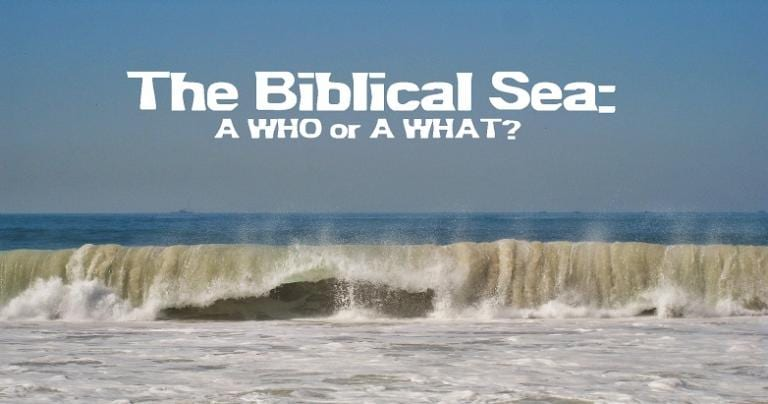 Sea in the Bible