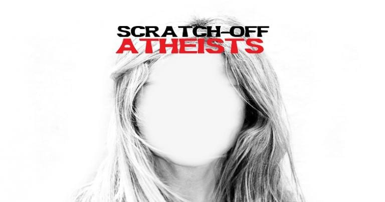 Fundamentalists Scratch-off Atheists