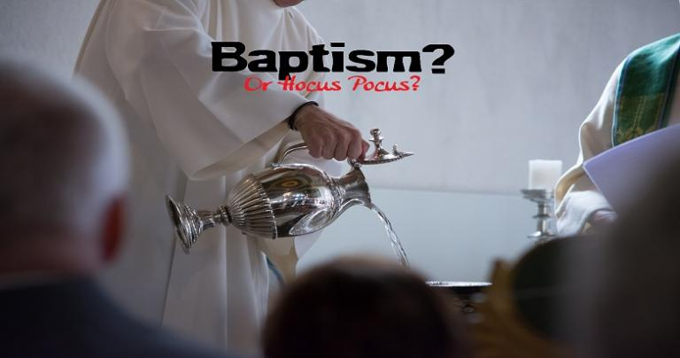 Baptism Important Words