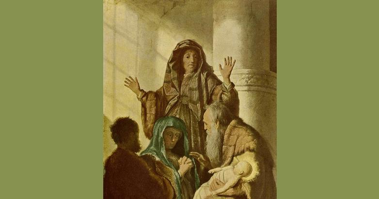 The Prophetess Saint Anna