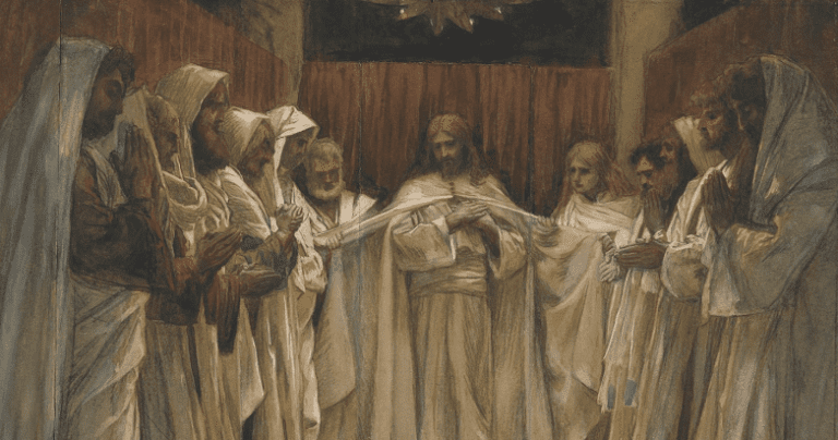 At the Last Supper in the holy Gospel according to John, Christ gives voice to the deep mysteries of his heart.