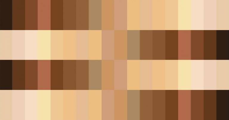 Spectrum of Human Skin Colors