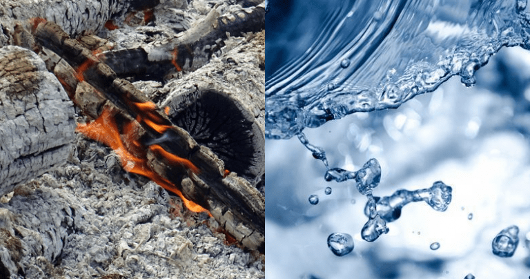 Living Between Ashes and Water