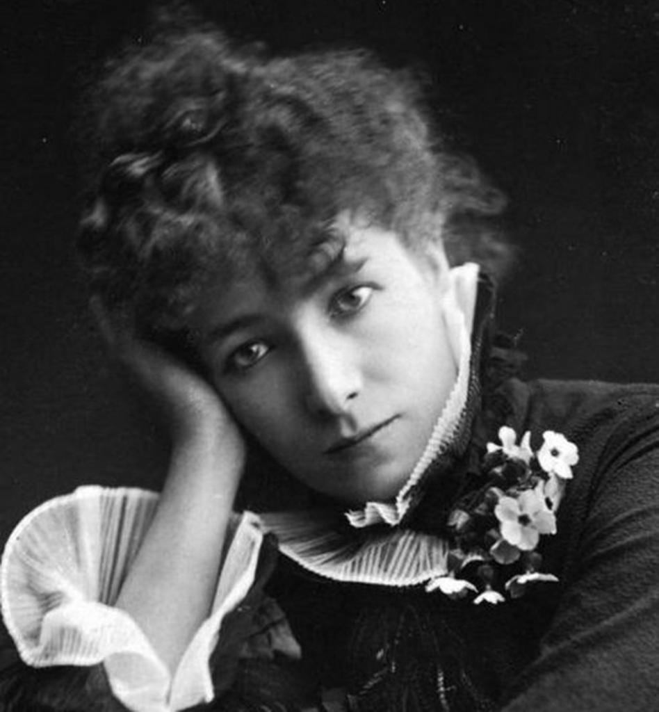 Sarah Bernhardt photo