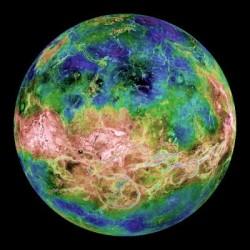 Venus turns retrograde 2012