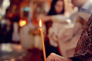 Eastern Orthodox Candle