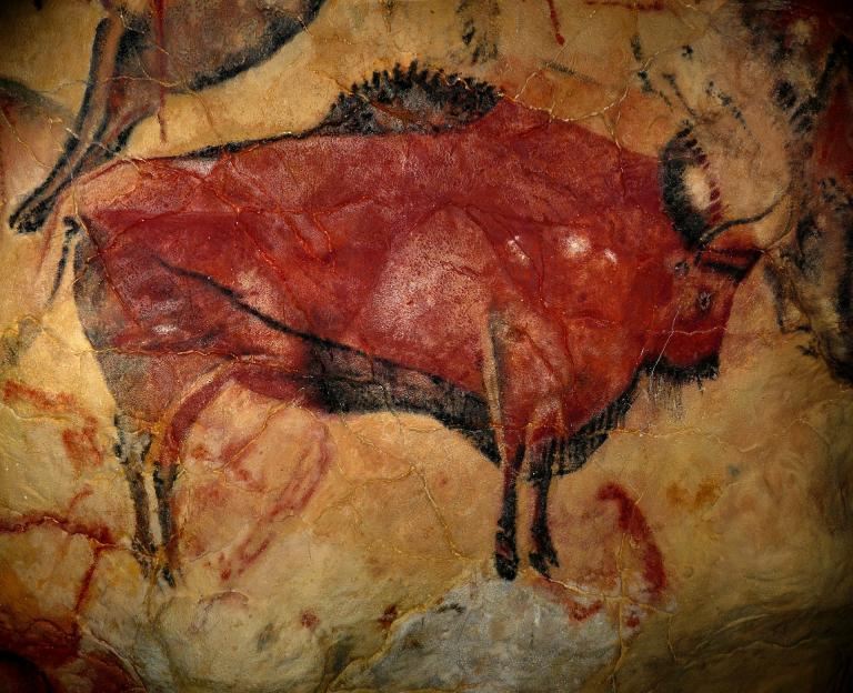 """<a href=""""https://pixabay.com/photos/bison-cave-of-altamira-1171794/"""">Image</a> by <a href=""""https://pixabay.com/users/janeb13-725943/?utm_source=link-attribution&utm_medium=referral&utm_campaign=image&utm_content=1171794"""">Welcome to all and thank you for your visit ! ツ</a> from <a href=""""https://pixabay.com/?utm_source=link-attribution&utm_medium=referral&utm_campaign=image&utm_content=1171794"""">Pixabay</a>"""