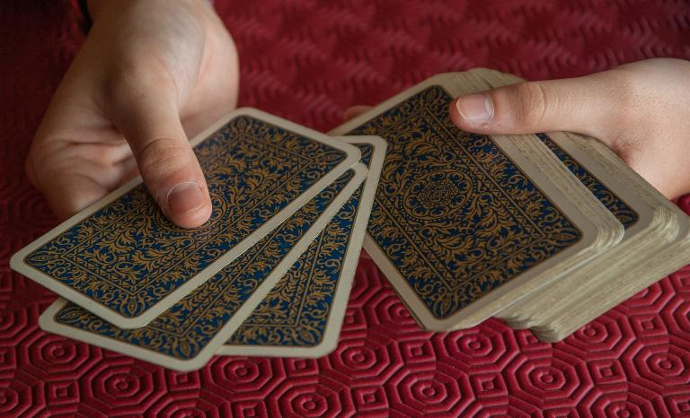 If I need clarification, I will pull more cards, shuffling and asking new questions as needed.