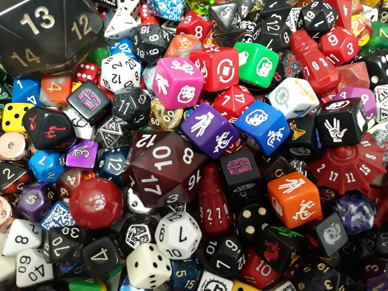Dice are not only fun, they are also valid tools for spellcasting and divination!