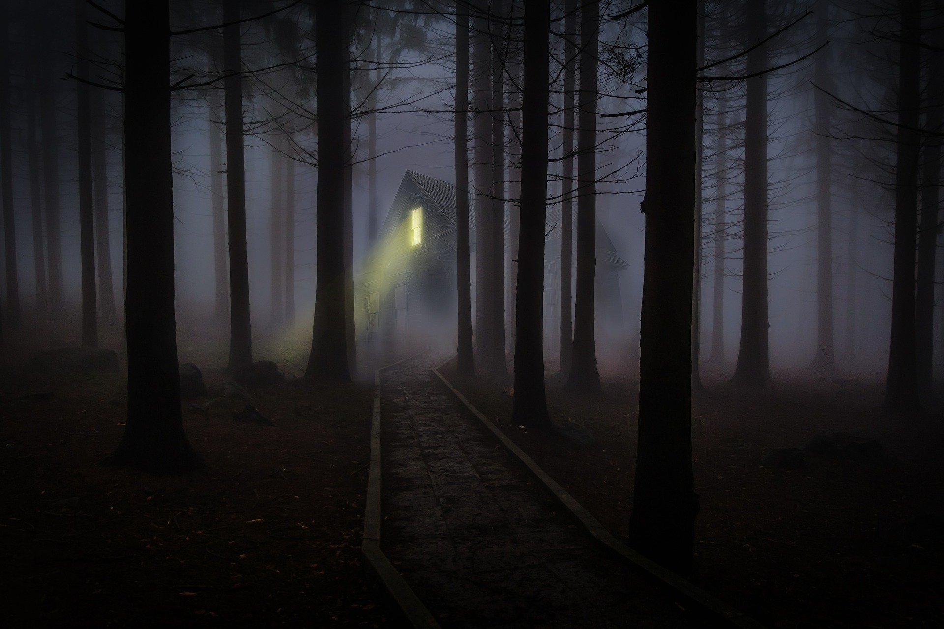 Is the haunting a result of an unembodied ghost, an echo of past events, or the very soul of the place acting out.
