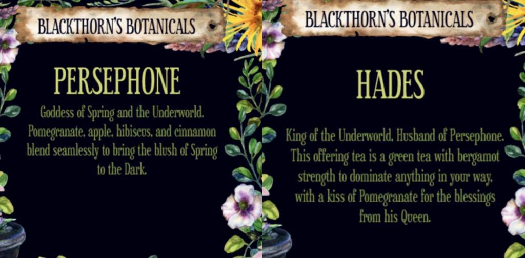 Photo, Blackthorns Botanicals