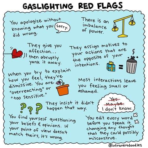 Gaslighting sucks